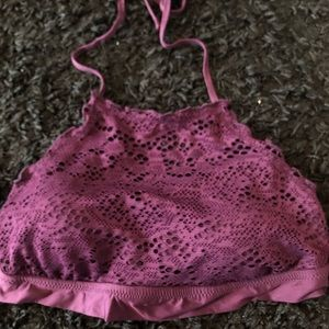 Other - Purple halter bathing suit top